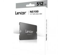 """Lexar NS100 512GB 2.5"""" SATA SSD (LNS100-512RBNA) New"""
