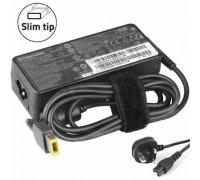 65W 20V 3.25A Slim Rectangle Tip for Lenovo , Used Original