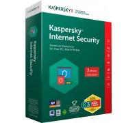 Kaspersky Internet Security 3-user, 1 year Retail Package