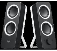 Logitech Z200 Speaker 2-Piece, Refubished, Brown Box (30 Days Warranty)